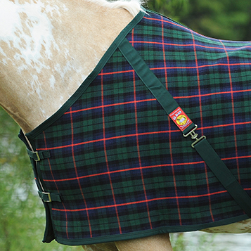 Plaid Tartan baker blanket tartan plaid | curvon horse clothing