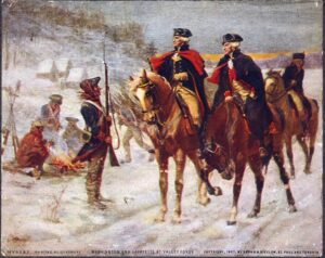George Washington and Nelson, Valley Forge