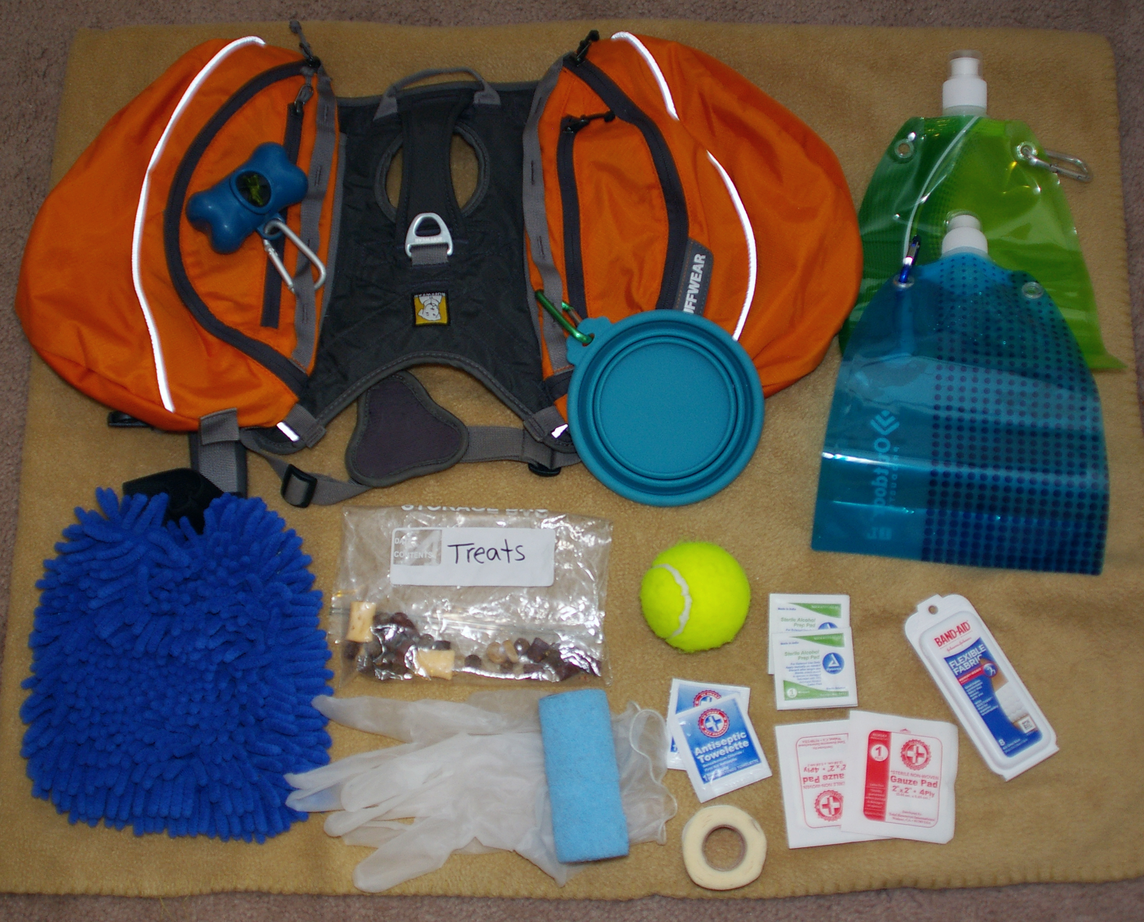 Wilco's Hiking Bag