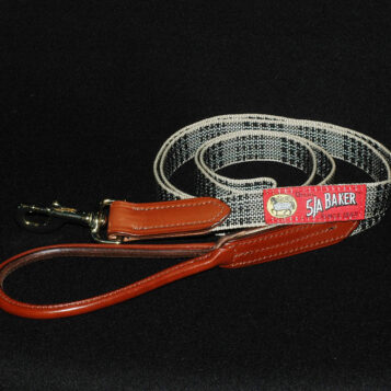 Leather Trim Dog Leash